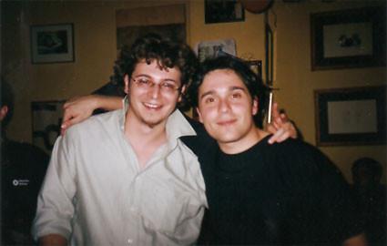 Con Andrea Perciaccante
