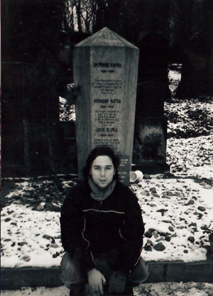 En la tumba de Kafka