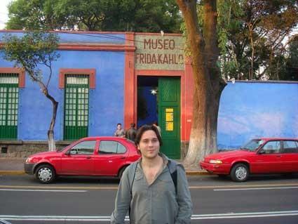 En la casa azul, Coyoacán, México