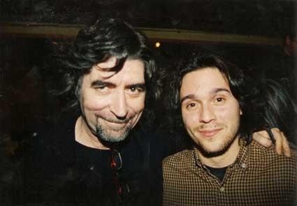 Con Joaquín Sabina, en La Tertulia