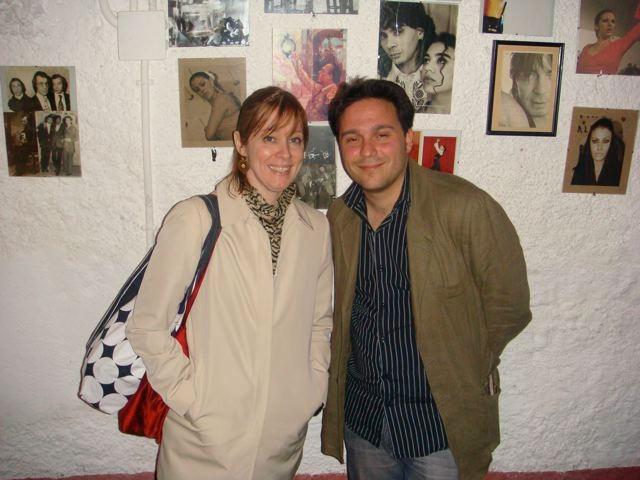 Con Suzanne Vega