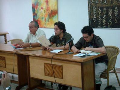Con Francisco Ruiz Udiel en La Habana