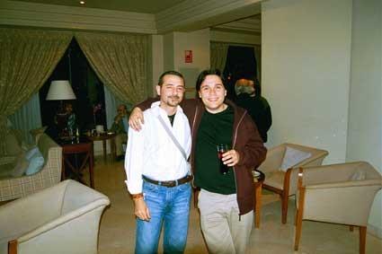 Con Vicente Gallego