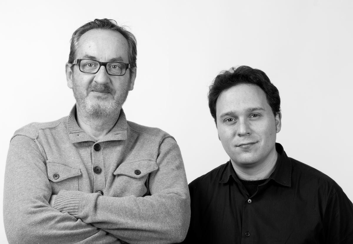 Con Javier Bozalongo (Foto de Joaquín Puga)