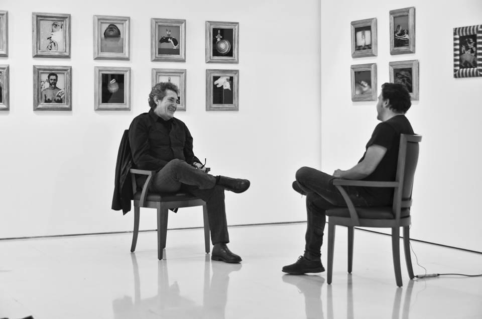 En una entrevista con Miguel Ríos (octubre 2013)