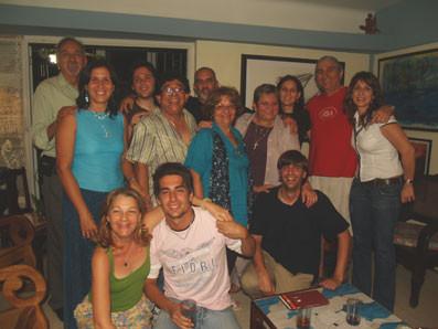 En La Habana, en casa de Waldo Leyva
