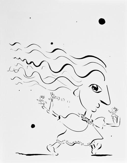 Dans le vent-00, 72 x 57 cm   - © Alain Bissonnette tous droits réservés