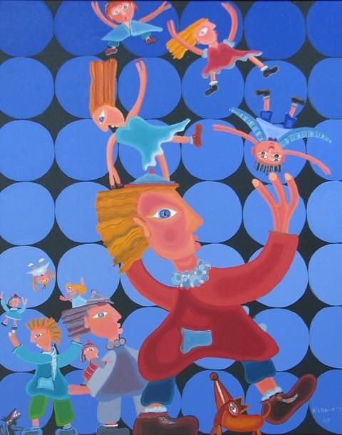 Circus- 08, 76 x 61 cm, 1050$  - © Alain Bissonnette tous droits réservés