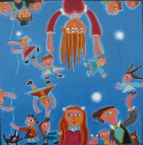 Aquarium- 09, 31 x 31 cm, 340$  -  © Alain Bissonnette tous droits réservés