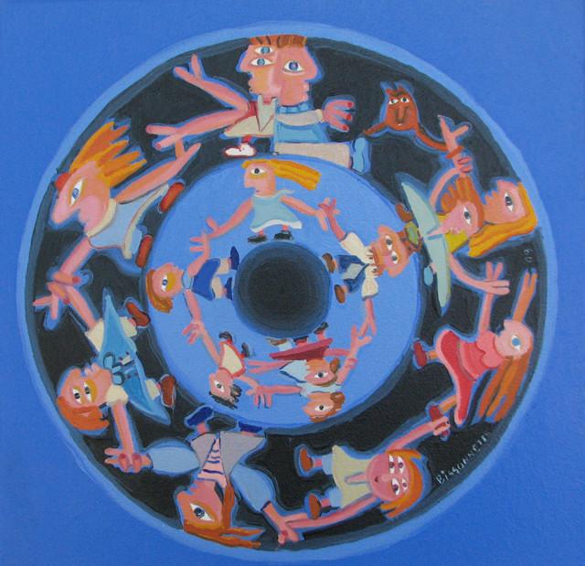 Rouage- 09, 25 x 25 cm, 280$  - © Alain Bissonnette tous droits réservés