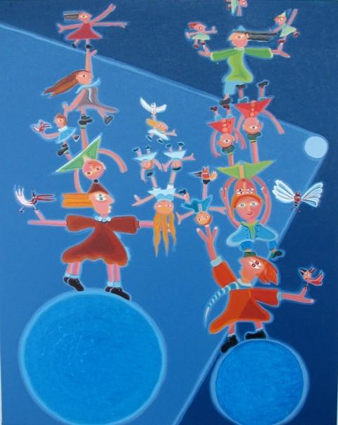 Prouesse-10, 76 x 61 cm, 1050$  - © Alain Bissonnette tous droits réservés