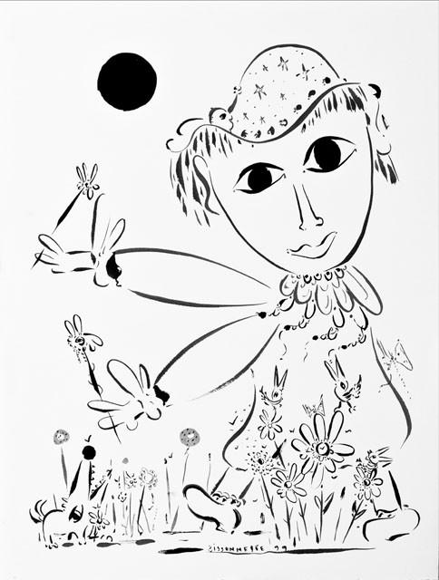 Marguerite-99, 72 x 57 cm  - © Alain Bissonnette tous droits réservés