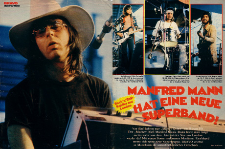 Manfred Mann's Earth Band - Mannheim 1973