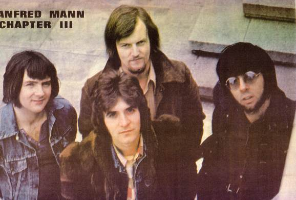 Manfred Mann Chapter 3 photo - Go Set Magazine 1971