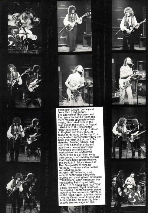 Watch Tour Programme 1978 - Page 6