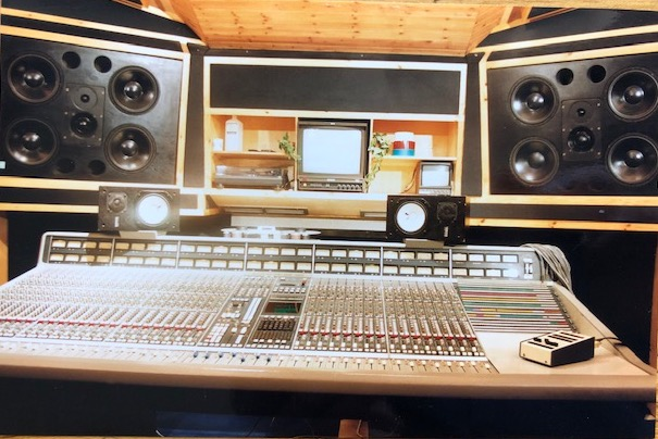Studio Two – view of SSL and Quested Main Speakers (Photo: Ian Tompson)