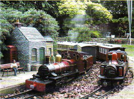 Angel Station - Andy Taylors Garden railway