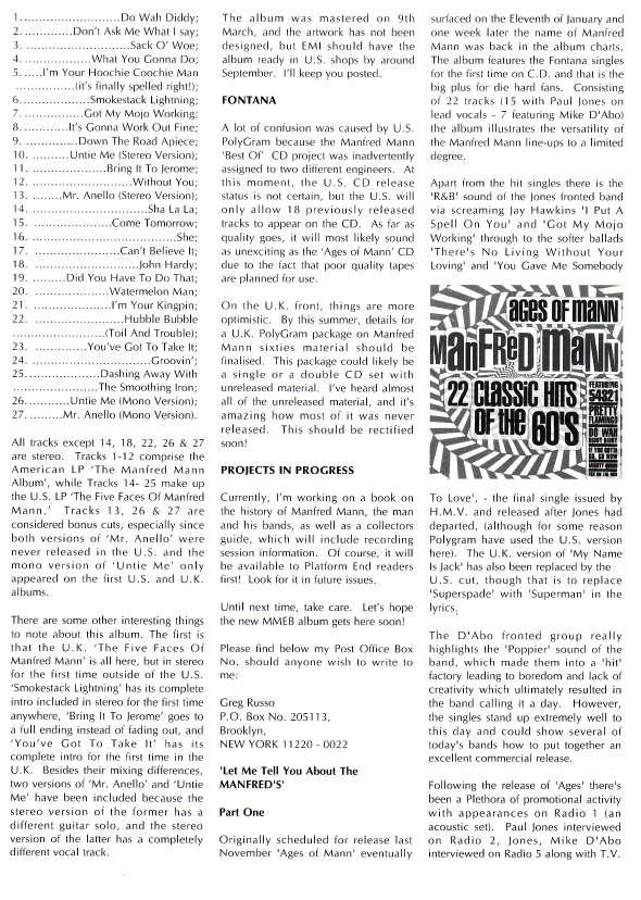 Platform End Summer 1993 - Page 5
