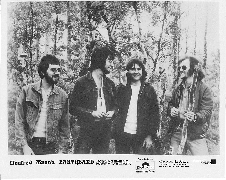 Manfred Mann's Earth Band publicity shot 1972