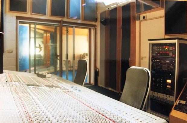 Studio Two – Control Room view to Live area (Photo: Ian Tompson)