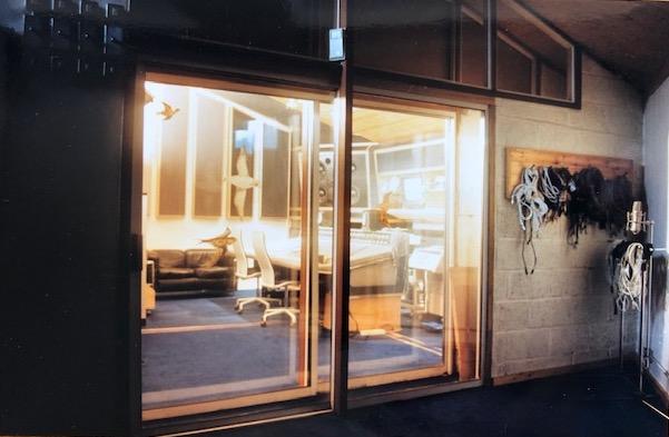 Studio Two – Recording area view into Control Room (Photo: Ian Tompson)