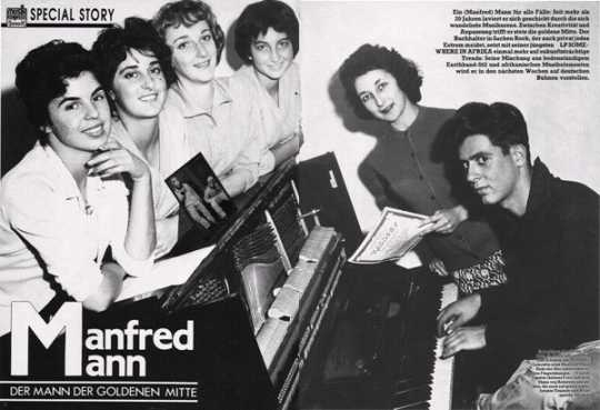 Manfred Mann 1950's - from Manfred's personal collection