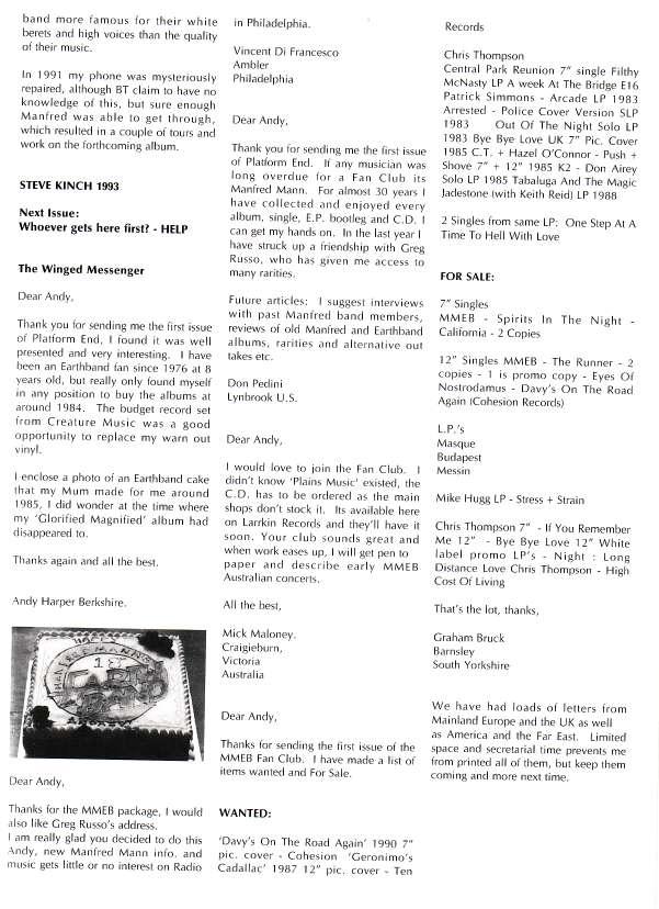 Platform End Summer 1993 - Page 11