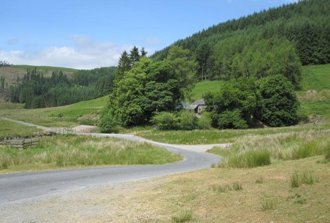 Finding the Good Earth - Abergwesyn pass