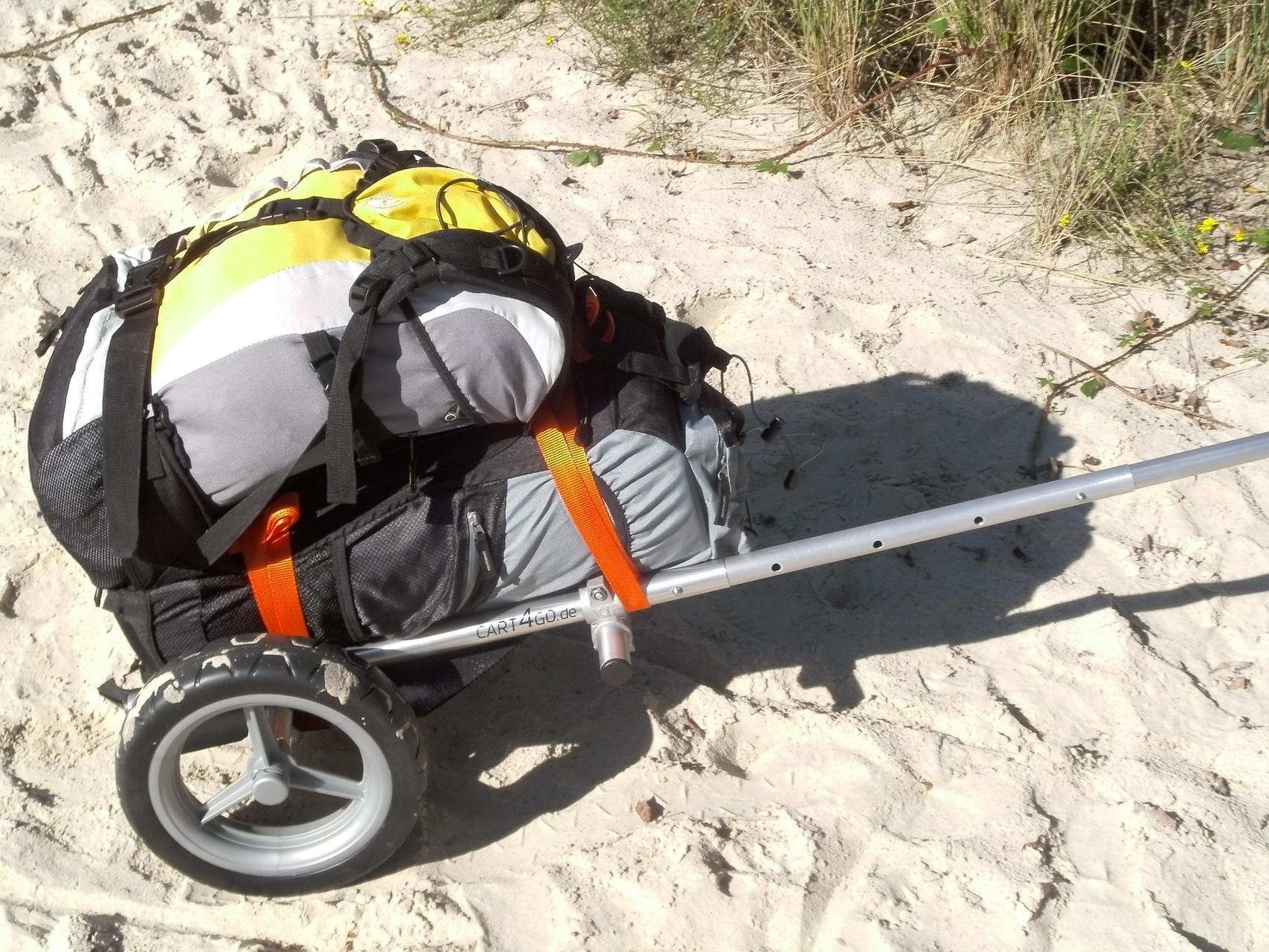 CART4GO for2 für 2 Personen oder schweres Gepäck
