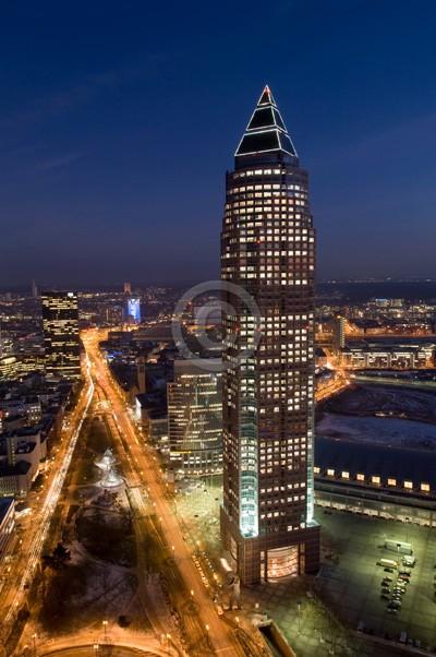 Skyline Frankfurt im Hochformat 21