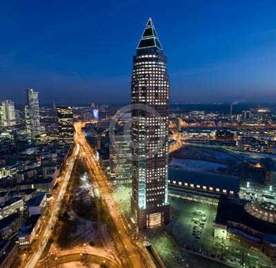 Skyline Frankfurt im Hochformat 18