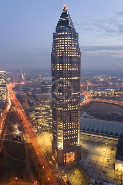 Skyline Frankfurt im Hochformat 23