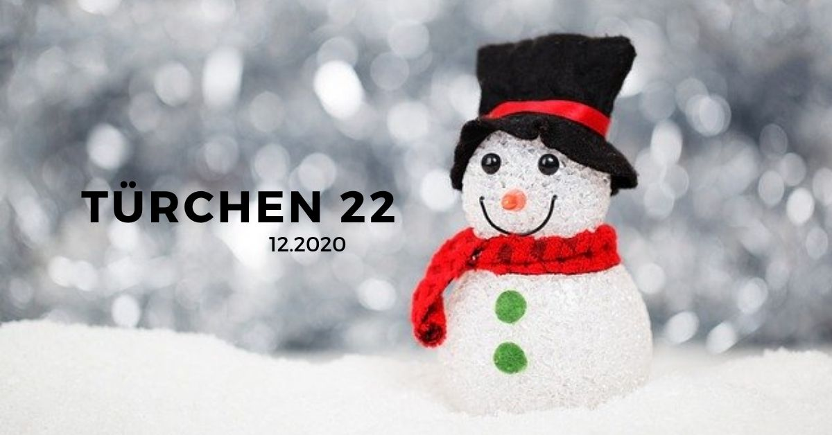 """Türchen 22 """"Lichterkette"""""""