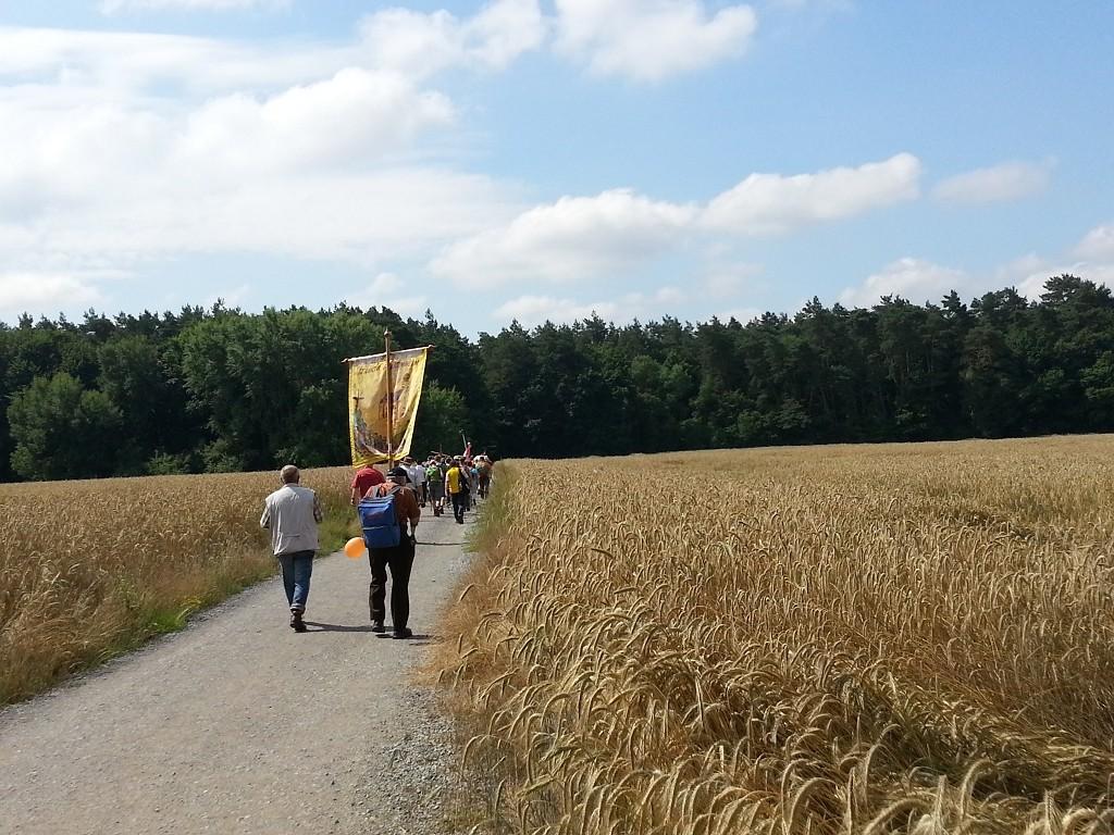 Wallfahrt 2014 - Bild von Erich Müller (Weiterverwendung nur für private Zwecke erlaubt)