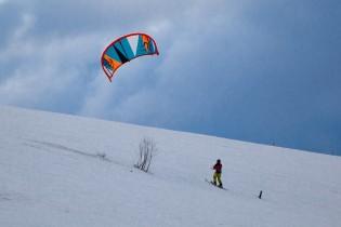 Le Snowkite