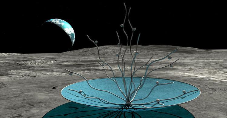 Vitae Project, une sculpture sur la Lune - Anilore Banon