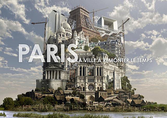Application online et iPad - La ville à remonter le temps - Dassault Systèmes