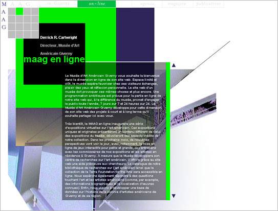 Site du Musée d'Art Américain Giverny - MAAG