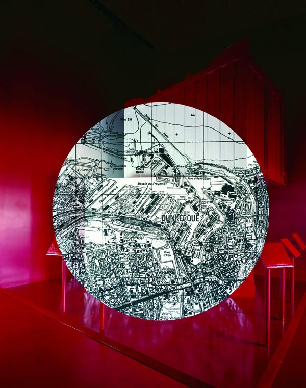 Oeuvre de George Rousse - Communauté Urbaine de Dunkerque - Expo Universelle Aichi 2005 - copyright George Rousse