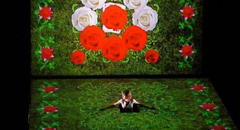 Video projections scéniques - Alice au pays des merveilles - La petite fabrique
