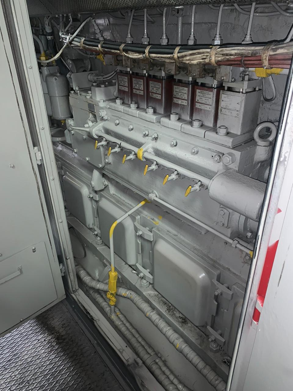 Тепловоз ТЭМ 18 после ремонта.