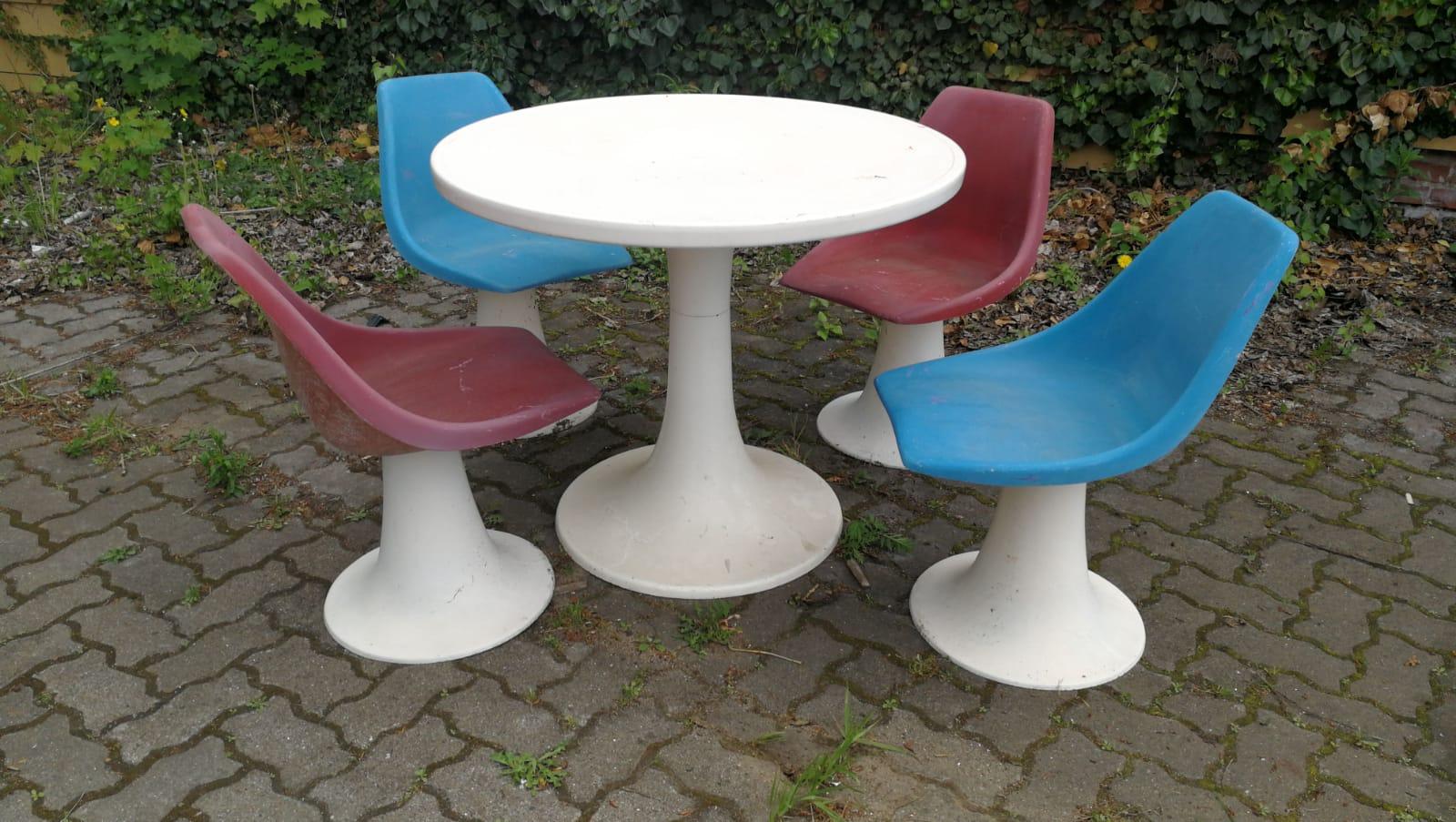 Stühle Bänke & Liegen VILLATERRA Vintage Industrie