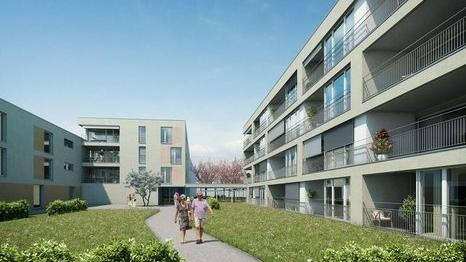 Betagtenzentrum WPC Holzimitate Terrassen