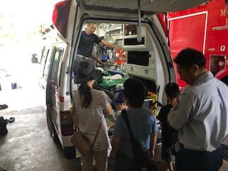 救急車の説明