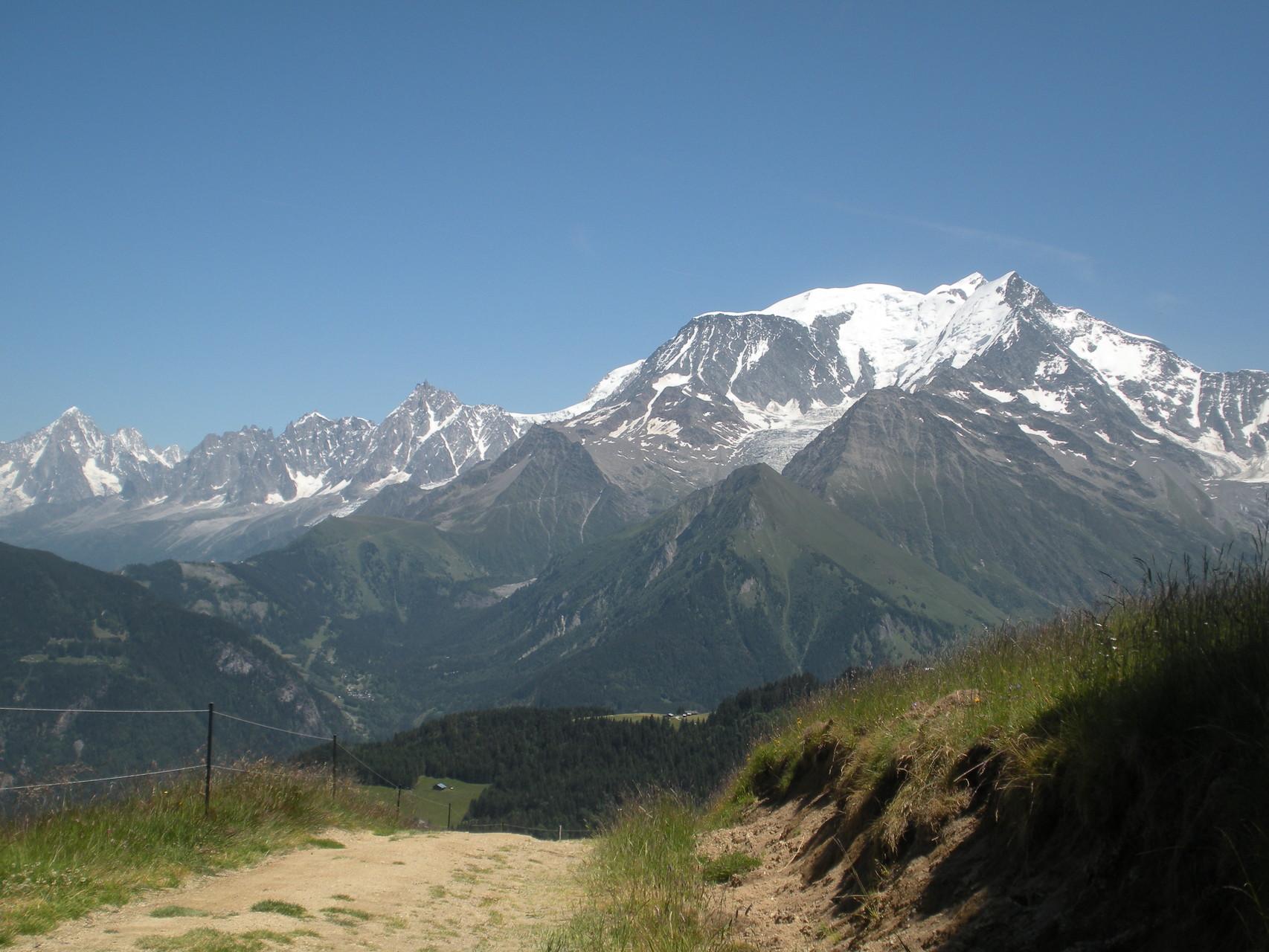 Randonnée été (Mont Blanc)