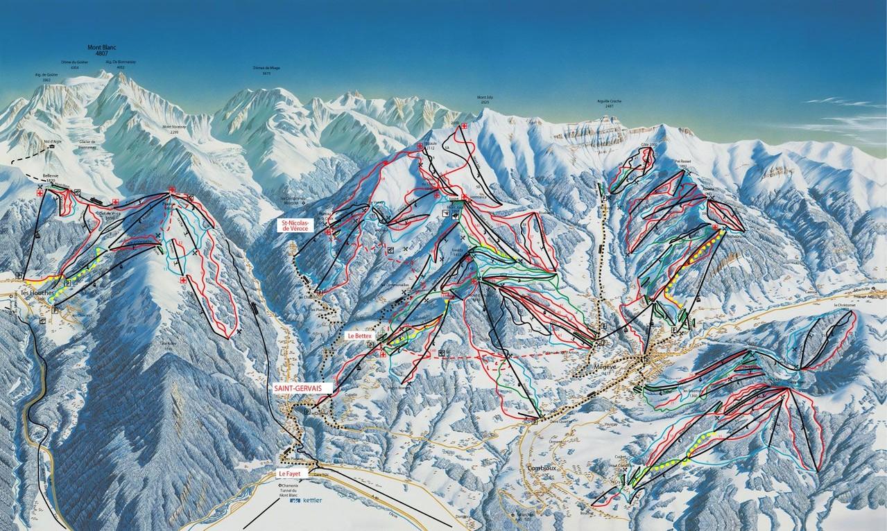 Domaine skiable de St-Gervais-Megeve