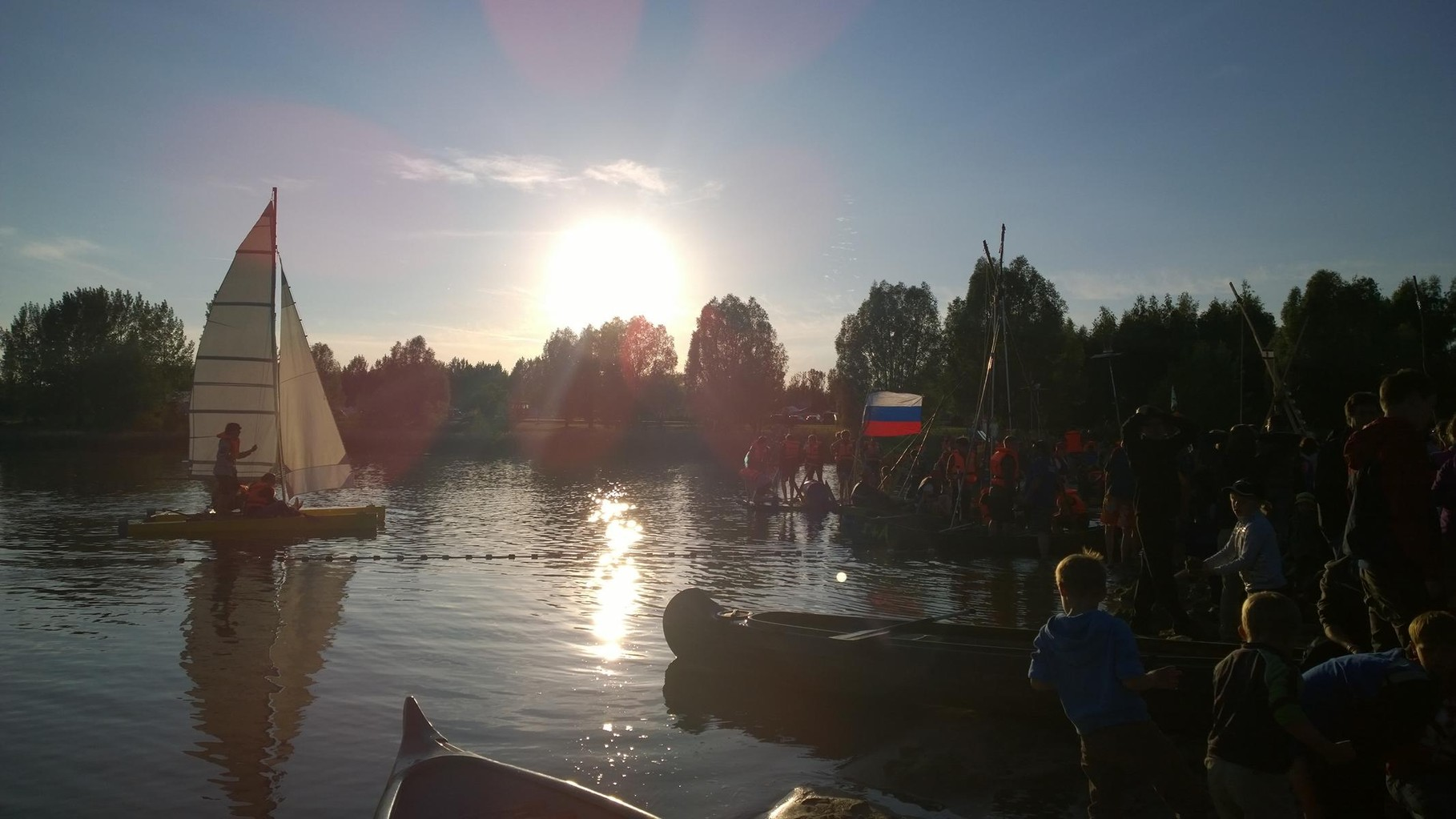 Himmelfahrtslager am Mondsee - Wassermeisterschaften der Olympischen Spiele