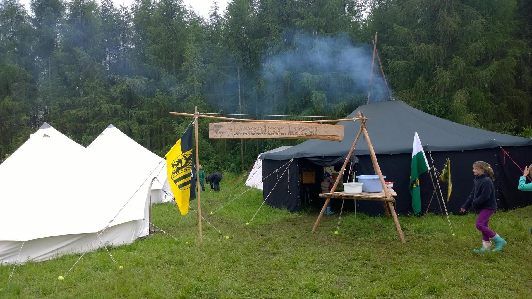 Himmelfahrtslager am Mondsee - unser Lager