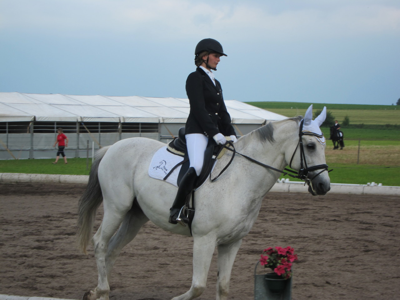 Katharina Kases mit Iram MW