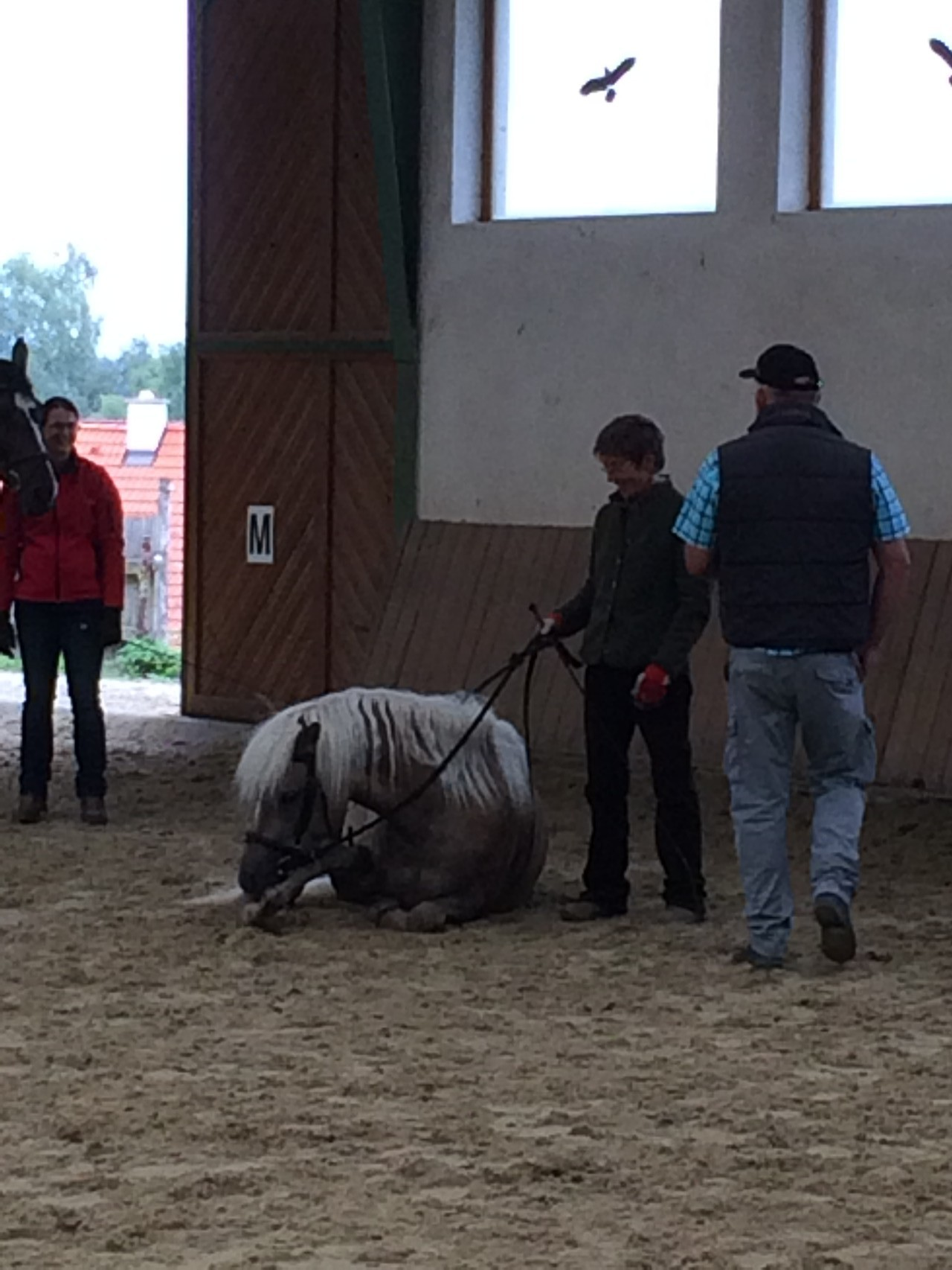 Gijana mit Karin und Wolfgang
